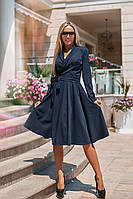 Элегантное платье миди костюмка Армани. Артикул: 104080