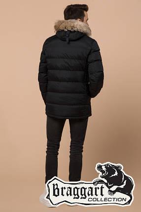 Черная подростковая зимняя куртка Braggart Teenager (р. 40, 42, 44, 46) арт. 73563V, фото 2