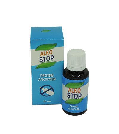 Капли от алкоголизма Alko Stop (АлкоСтоп) ViP