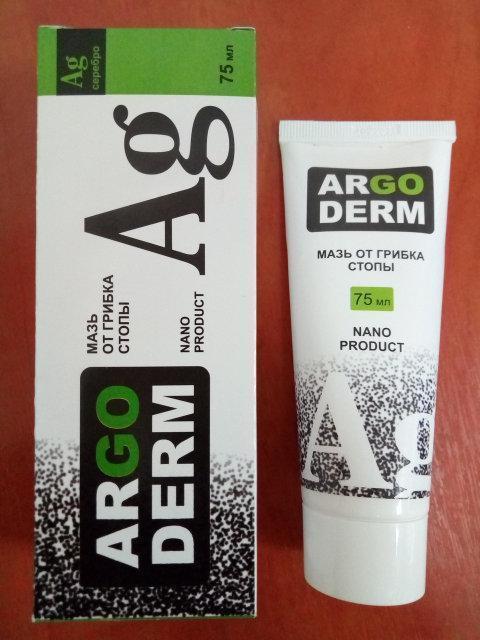 ArgoDerm - Мазь от грибка и трещин стопы (АргоДерм) ViP