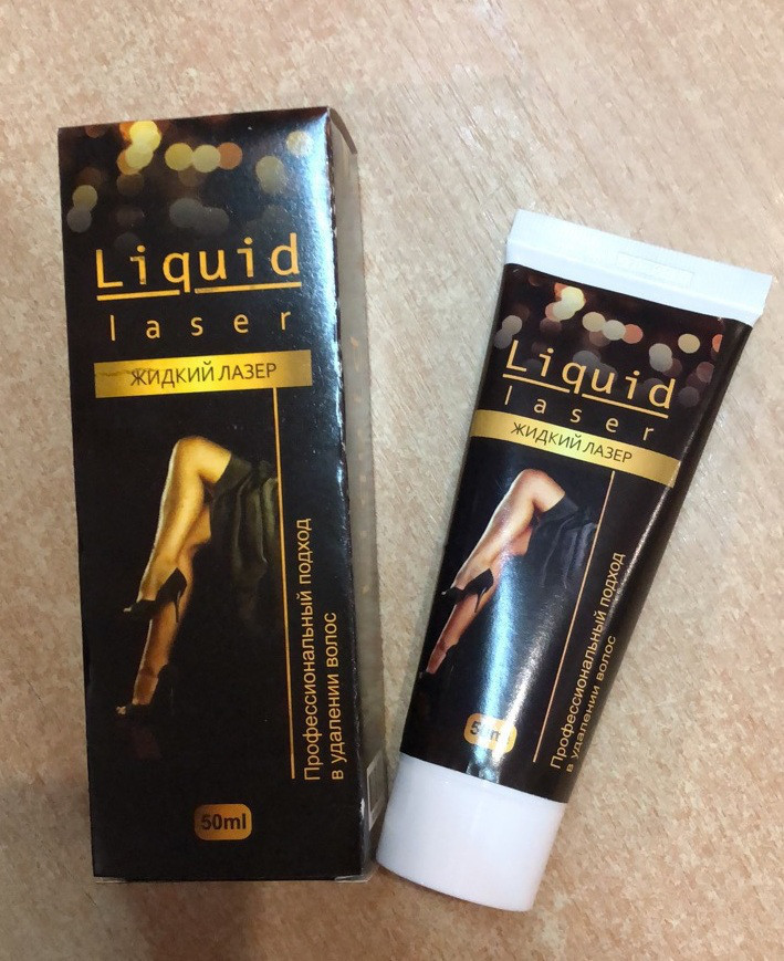 Жидкий Лазер - Liquid Lazer - средство для безболезненной депиляции ViP