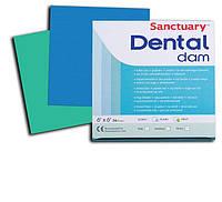 Платки для коффердама, Хустки для коффердама, 36шт./Упак Dental Dam Sanctuary (Малайзия)