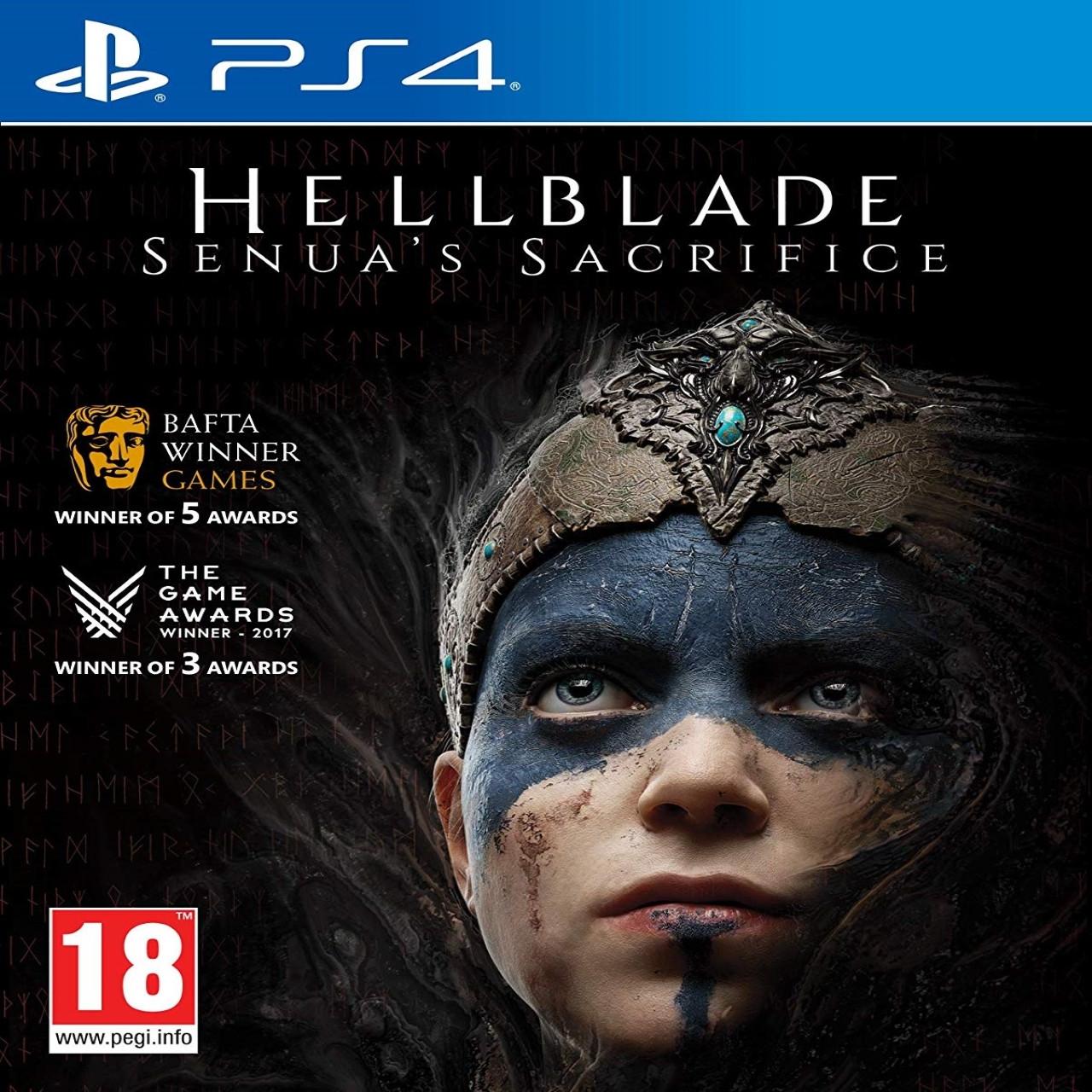 Hellblade Senua's Sacrifice PS4 SUB (NEW)