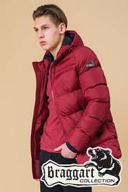 Красная зимняя куртка на подростка Braggart Teenager (р. 40, 42, 44) арт. 71293G