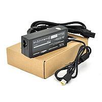 Блок питания MERLION для ноутбука LENOVO 20V 3,25A (65 Вт) штекер FOR YOGA , длина 0,9м + кабель питания