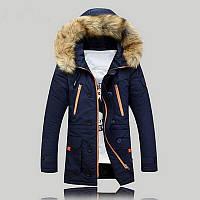 Длинная мужская куртка AL-7833-95, фото 1