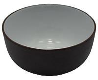 Пиала для чая из глины с глазурью, 40 мл
