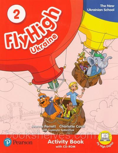Fly High 2 WorkBook+CD-Rom UKRAINE