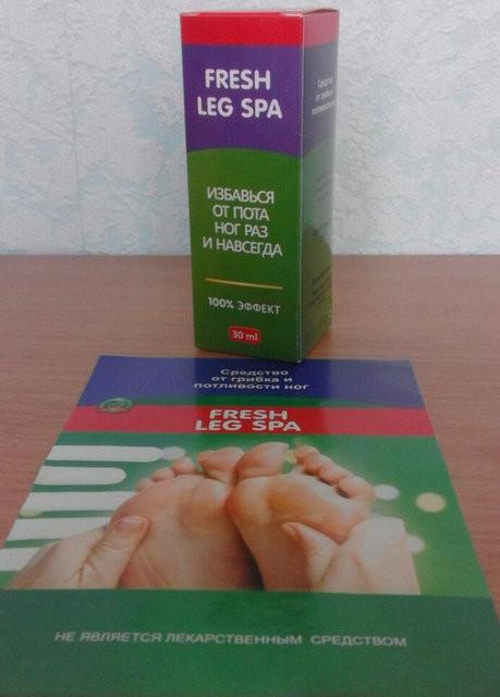 Спрей от грибка и потливости ног Fresh Leg Spa (Флеш Лег Спа) ViP