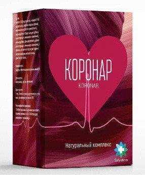 Коронар - Натуральный комплекс от гипертонии (чай) ViP