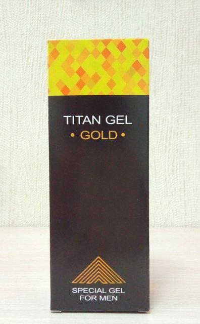 Titan Gel Gold - Гель-лубрикант (Титан Гель Голд) ViP