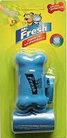 Мистер Фреш Пакеты для уборки фекалий с брелком-держателем (40 пакетов)  (48) (уп.)