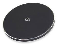 Беспроводная зарядка Qitech Slim Pad Gen 2 с поддержкой fast charge, цвет черный