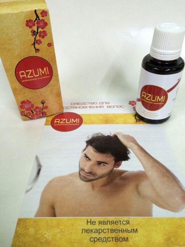 Azumi cредство для восстановления волос ViP