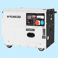 Генератор дизельный трехфазный HYUNDAI DHY 6000SE-3 (5.0 кВт)