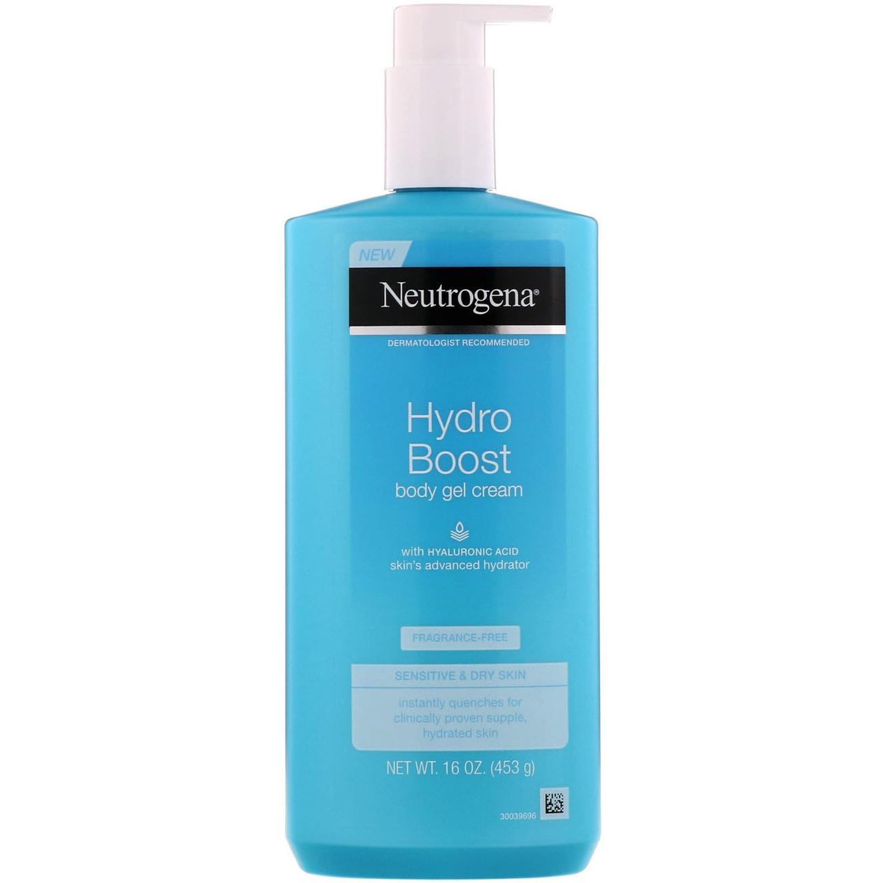 "Крем-гель для тела ""Hydro Boost"" от Neutrogena, 453 г"