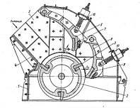 Дробилка роторная ДРК 5х4 крупного дробления