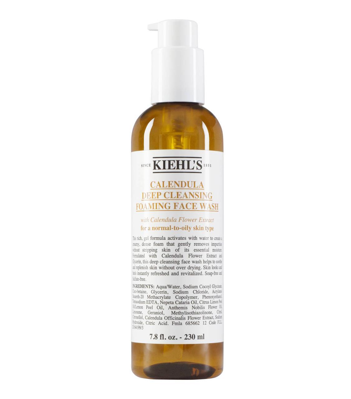 KIEHLS Calendula Deep Cleansing Foaming Face Wash 230ml