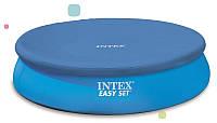 Тент защитный для надувного бассейна диаметром 244 см Intex 28020 RI, КК