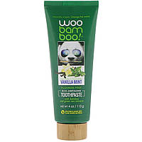 Woobamboo, Зубная паста Eco-Awesome, без фтора, ванильная мята, 113 г