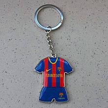 Стильный брелок для ключей в форме футбольного клуба Barselona