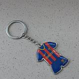 Стильный брелок для ключей в форме футбольного клуба Barselona, фото 2