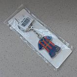 Стильный брелок для ключей в форме футбольного клуба Barselona, фото 3