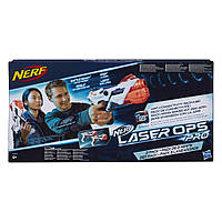 Набір з двох лазерних бластерів Nerf AlphaPoint Laser Ops Pro Нерф Лазер (E2281EU4)