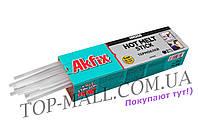 Клеевые стержни Akfix - 8 х 300 мм, прозрачные (1 кг)