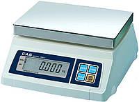Весы торговые CAS SW (2, 5, 10, 20 кг)