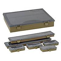 Коробка рыболова Prologic Tackle Organizer XL 1+6 BoxSystem (36.5x29x6cm) (1846.09.01)