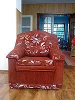 Ремонт и перетяжка кресла.