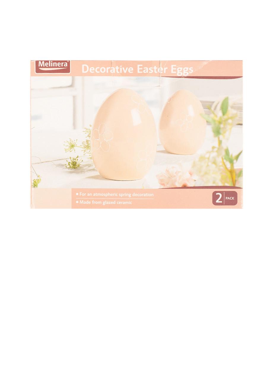 Набор керамических яиц Melinera декор 2шт