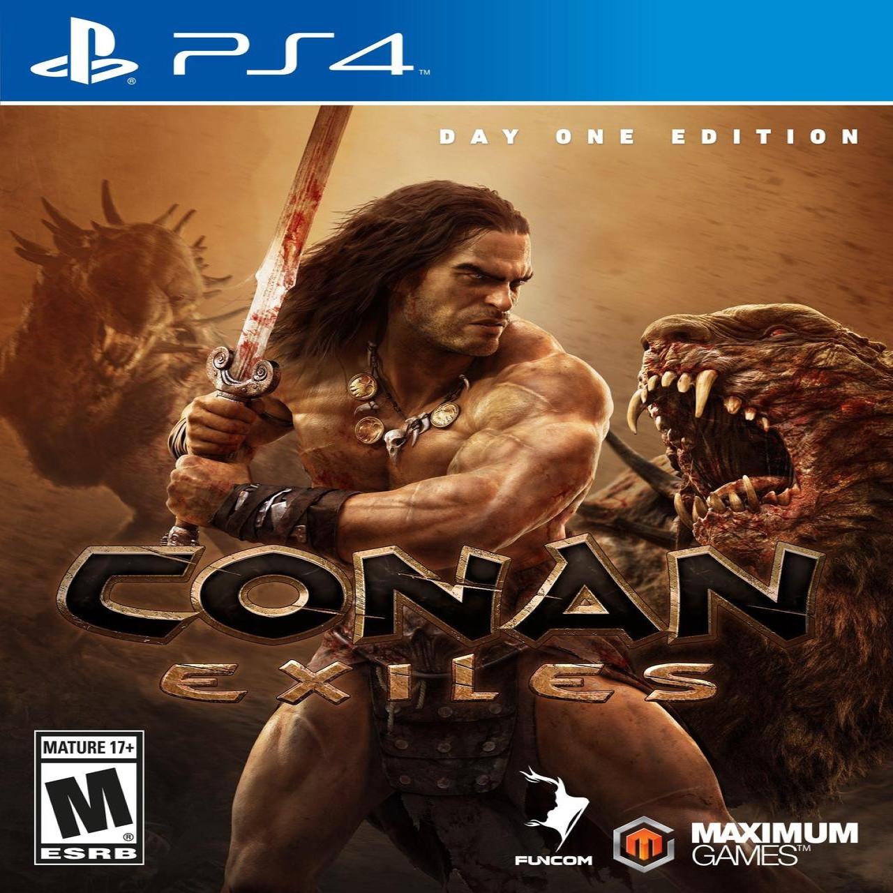 Conan Exiles (русская версия) PS4