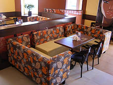Диван для кафе, бара, ресторана, фастфуда, пицерии, кофейни —Тунис, фото 2