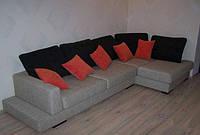 Угловой диван Аладин. Изготовление мягкой мебели под заказ.