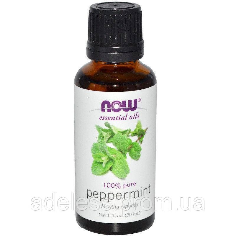 """Эфирное масло перечной мяты NOW Foods """"Peppermint"""" , 30 мл"""