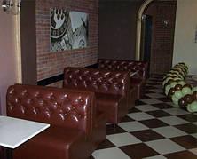 Диван для кафе, бара, ресторана —Маркиз. Производство мягкой мебели для кафе, баров, ресторанов.