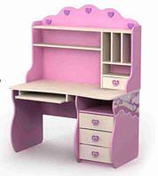 Серия «Pink» Стол с ящиками Pn-08-2 BRIZI