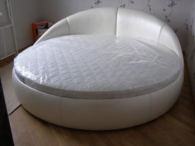 Круглая кровать Луна. Кровать круглая. Изготовление круглых кроватей., фото 1