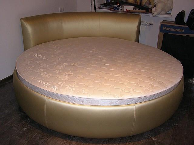 Круглая кровать Венера. Кровать круглая в Киеве. Изготовление круглых кроватей