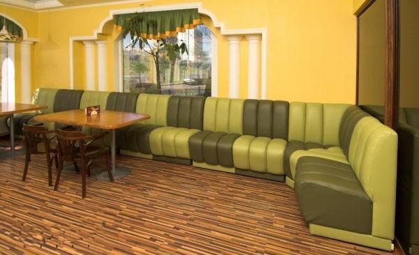 Диван для кафе, бара, ресторана, фастфуда, пицерии, кофейни —Коффи