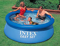 Надувной бассейн intex 28110 (56970) easy set pool, 244х76 см