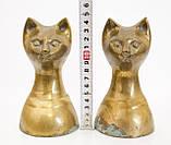 Латунні стопори для книг, букенды, кішки, латунь, вінтаж, Індія, фото 8