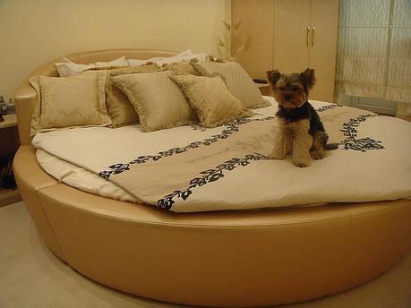 Круглая кровать Глория Люкс. Кровать круглая. Изготовление круглых кроватей., фото 2