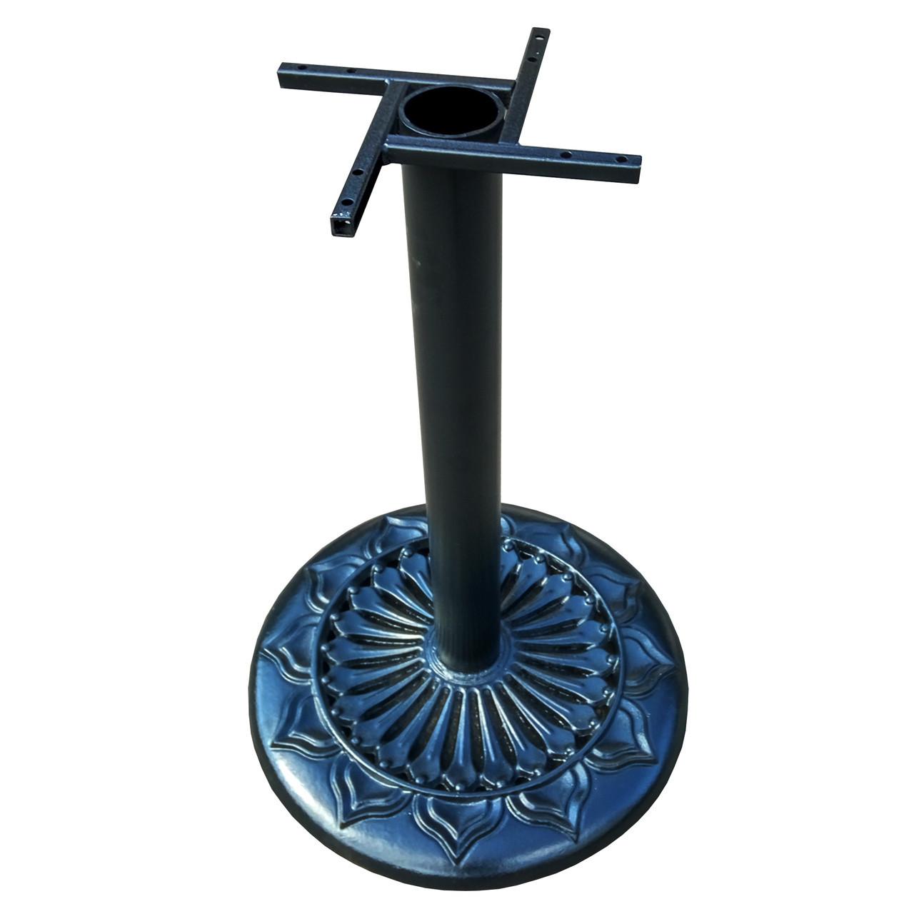 Опора для стола Сполето. Основание для стола. Подстолье из чугуна. Основа для стола. База для стола.