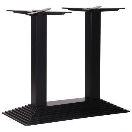База Пирамида Дабл (TB119) Черный. Основания для стола. Подстолья.