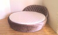 Круглая кровать Саманта Лайт. Круглые кровати под заказ в Киеве.