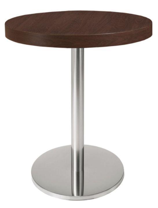 Опора для стола из нержавейки Е-19/400/720/63. Основа. База для стола нерж. Подстолья из нержавейки