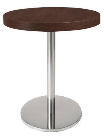 Опора для стола из нержавейки Е-19/400/720/63. Основа. База для стола нерж. Подстолья из нержавейки, фото 2